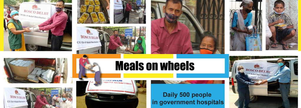 Bosconet provides meals for 100 days
